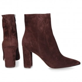 Gianvito Rossi Ankle Boots PIPER 85 suede UYTBBLH
